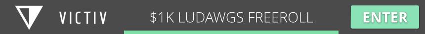 $1,000 LUDAWGS UNLEASHED FREEROLL